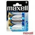 Blister c/2 pilas LR20 Maxell  PI20