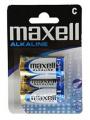 Blister c/2 pilas grande LR14 Maxell  PI14