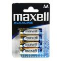 Blister c/4 pilas LR6 Maxell AA  PI6