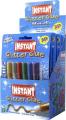 Blister c/6 tubos pegamento purpurina instant  PE11221