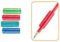C/60 gomas grip para lapices colores  GO86628