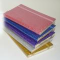 Cuaderno 9x14 flexible htal.purpurina  CU230