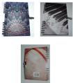 Diario juvenil espiral chico con candado 3 modelos   DI1523