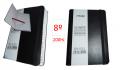 Indice MANIFOL 8º 200hj cuadros flexible tapa hule negro  IN533
