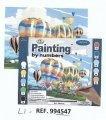 Libro kit pintura x numeros + accesorios  LI4547