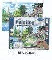 Libro kit pintura x numeros+accesorios  LI4608