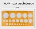 PLantillas circulos 20x10cm  PL12