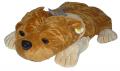 Peluche perro buldog 60cm  MU630
