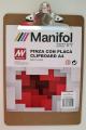 Pinza con placa tablex a-4 manifol  PI3416