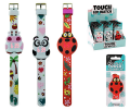Reloj silicona touch led infantil animales  RE3356