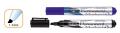 Rotulador permanente biselado 1-5mm negro  RO80534